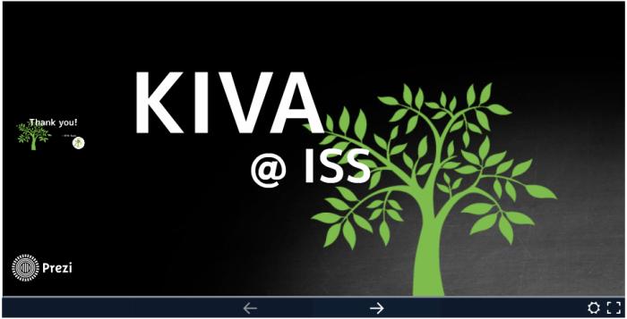 KIVA@ISS